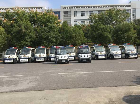 2015年9月与政府合作嘉远灵族警车完成交付