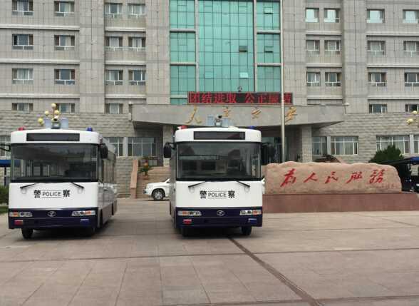 嘉远造移动警务室在新疆投入使用